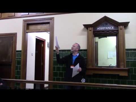 A tour of Aldwych Underground Station