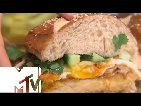 PHILLY PRETZEL BANH MI SCHNITZEL - BROTHERS GREEN: EATS | MTV