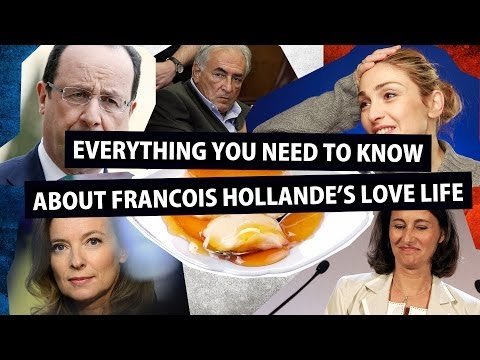 Francois Hollande: everything you need to know about the French President's love life