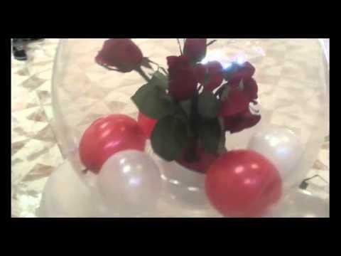 decoracion para bodas globos chasty