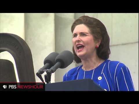 President Johnson's Daughter Speaks at 50th Anniversary of March on Washington