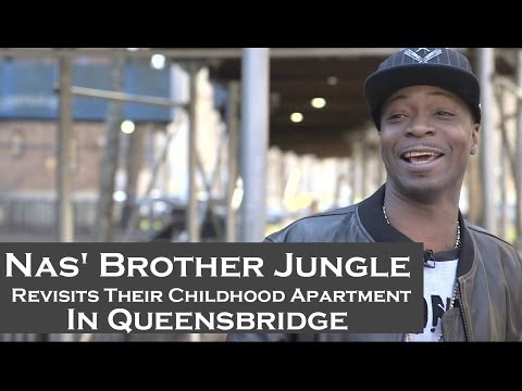 Nas' Brother Jungle Revisits Their Childhood Apartment In Queensbridge