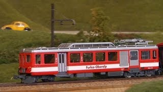Die größte Modelleisenbahn in Spur 0 in der Schweiz