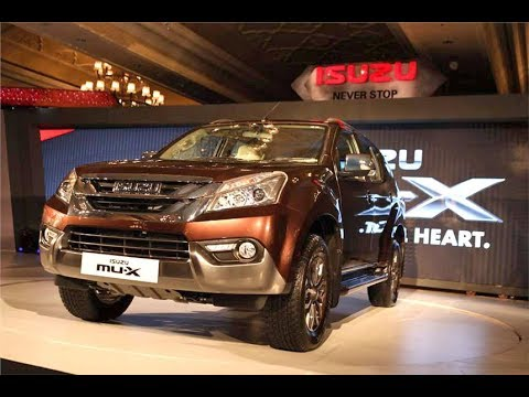 2017 Isuzu MU X SUV Official Review Video - Photo - Pics - Images - First Drive - 2017 - 2018