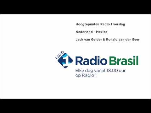 Samenvatting Nederland - Mexico op Radio 1
