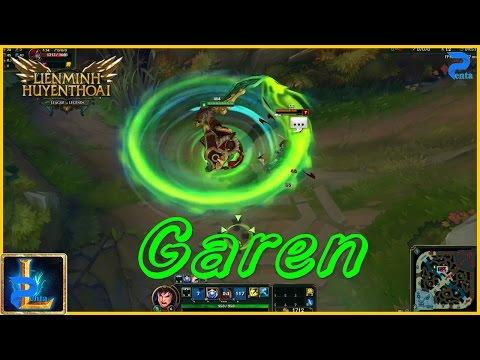 Trang Phục Garen Long Tướng - Garen Chiến Quốc - skin lol - skin lmht - trang phục Garen mới