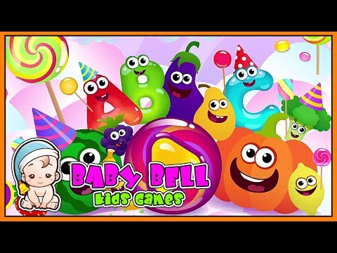 Funny Food ABC games for toddlers and babies | Baby Bell - Kids Games