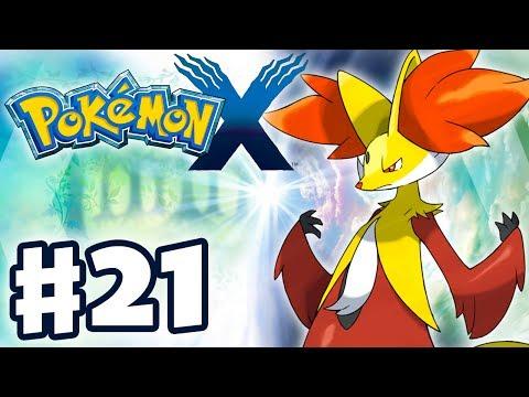 Pokemon X and Y - Gameplay Walkthrough Part 21 - Delphox! (Nintendo 3DS)
