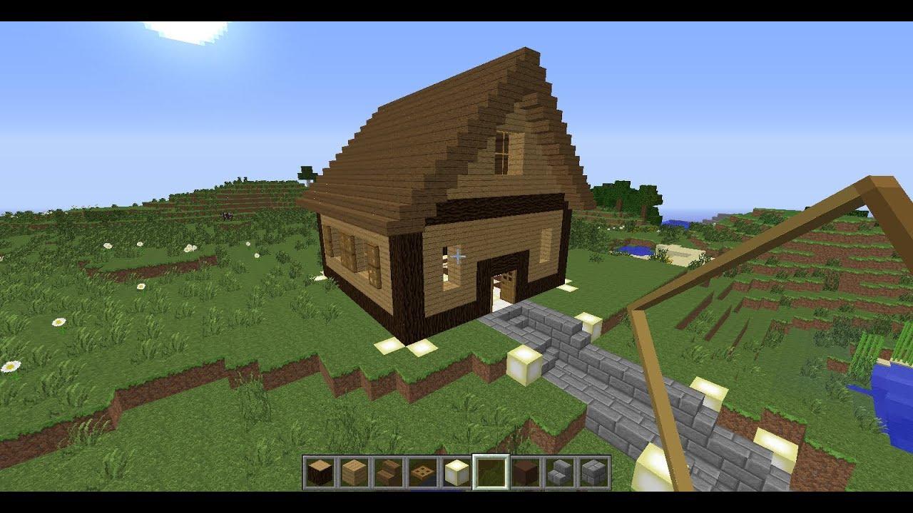 Tuto minecraft construction d 39 un chalet de no l hd youtube - Minecraft construction de maison ...