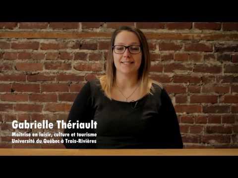 Gabrielle Thériault, Université du Québec à Trois-Rivières (2e cycle)