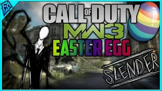 MW3 Easter Egg Slender Man