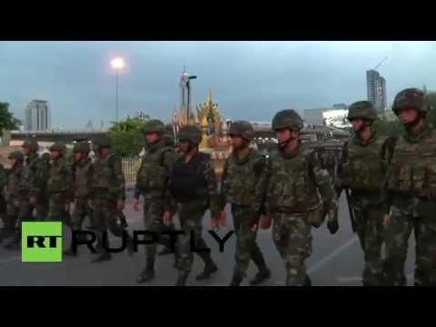 Thailand: Stand-off between Army and protesters ends