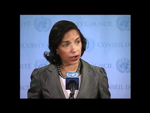 WorldLeadersTV: SYRIA CRISIS: U.N. SECURITY COUNCIL MEETS: US Amb. SUSAN E. RICE: 10 April 2012