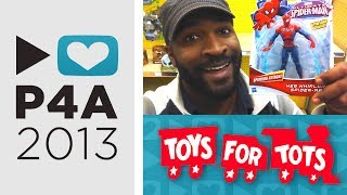 Toys for Tots : PROJECT FOR AWESOME 2013 #P4A
