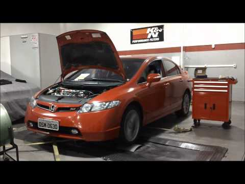 CIVIC SI HONDATA + C.A.I + CAT DELETE..wmv