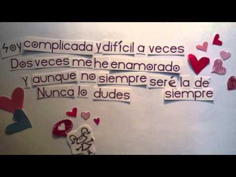 Paty Cantú - Manual (Lyric Video Oficial)