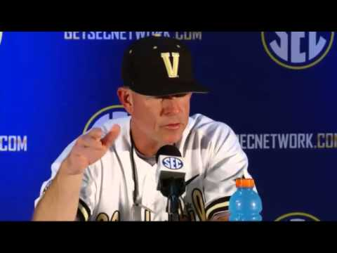 2014 Baseball Tournament - Day 1 Vanderbilt Press Conference