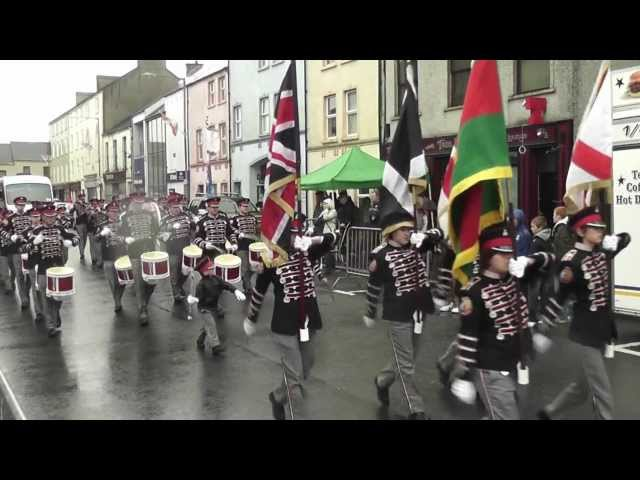 Clogher Protestant Boys FB @ Pride Of The Hill FB Parade 2012
