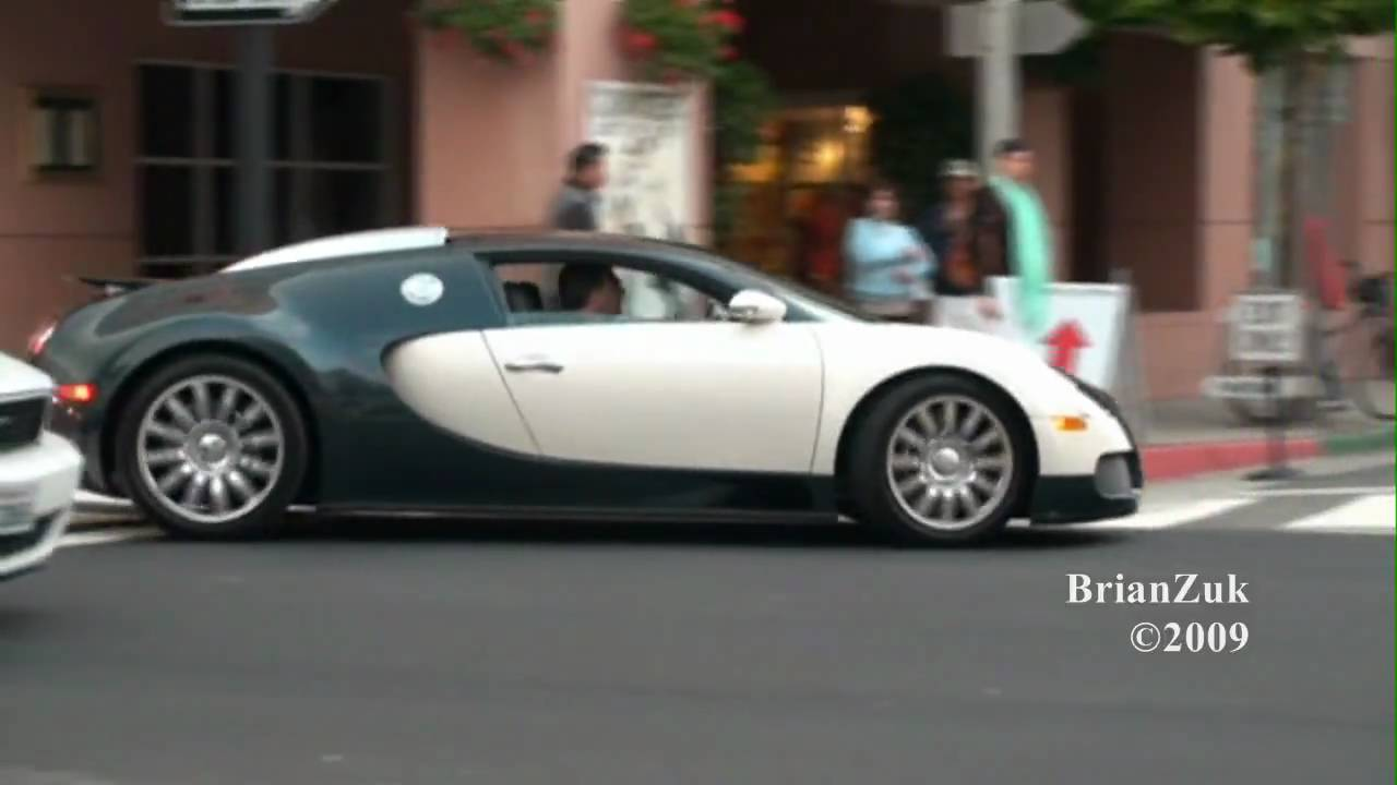 bugatti veyron on the road youtube. Black Bedroom Furniture Sets. Home Design Ideas