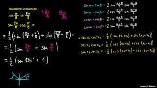 Defaktorizacija trigonometričnih izrazov – naloga 5