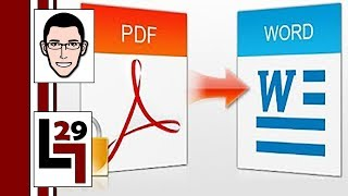 Como Pasar Un Archivo PDF A Word O Imagenes