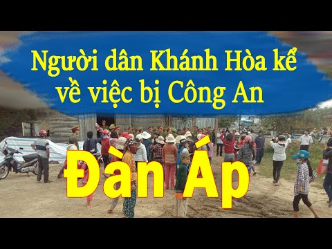 108tv - Người dân Ninh Hòa (Khánh Hòa) nói về việc công an đàn áp
