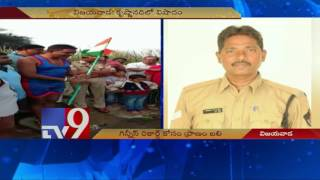 Swimmer cop preparing for Guinness record, dies in Krishna..