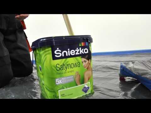 Śnieżka - część 5. Film instruktażowy Śnieżka Satynowa - przygotowanie wyrobu do malowania.