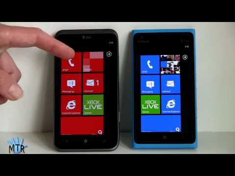 Nokia Lumia 900 vs HTC Titan II Comparison Smackdown