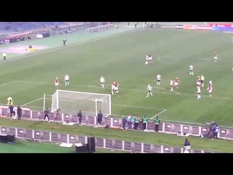 ROMA  - udinese 3-2 Torosidis 3-1 2014/03/17  @ Curva SUD