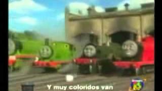 Thomas Y Sus Amigos Cancion En Español.mp4
