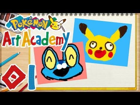 Pokemon Art Academy Images Pokémon Art Academy 01