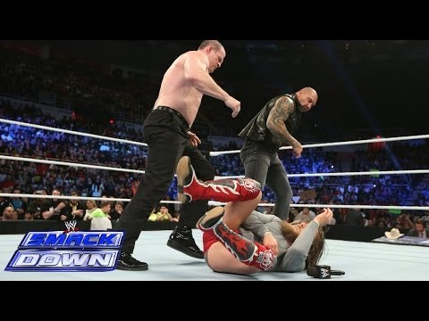 SmackDown opens with a Batista, Daniel Bryan, Kane and Big Show melee: SmackDown, March 7, 2014