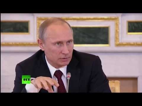 Putin: Isolating Russia is not possible (Q&A session part 1)