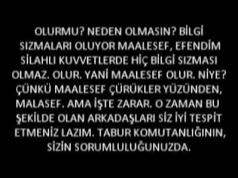 BAŞBUĞ'UN ŞOK SES KAYDI (Fethullah Gülen ABD Ajanidir)