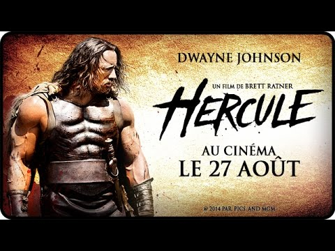 HERCULE avec Dwayne The Rock Johnson - Bande Annonce Officielle VF