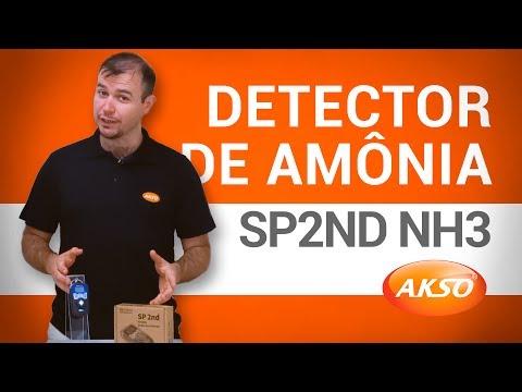 Conheça o Detector de Amônia SP2nd NH3