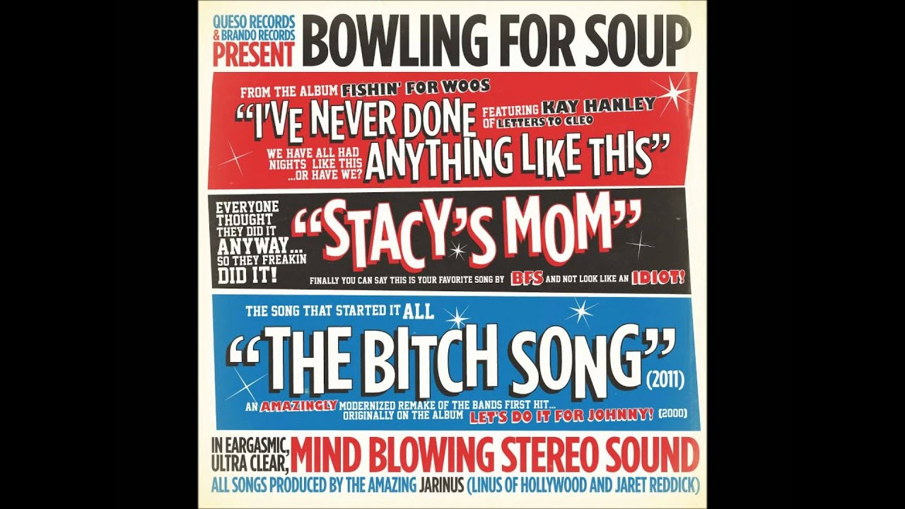 Bowling For Soup - Stacy's Mom (Lyrics) - YouTube