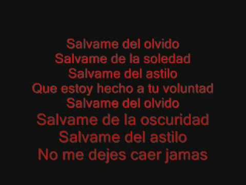 RBD-Salvame+lyrics