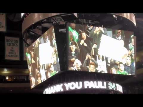 'Thank you, Paul': Paul Pierce Celtics video tribute