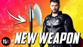 Leaked Avengers Infinity War Lego Set Reveals Thor's NEW Weapon