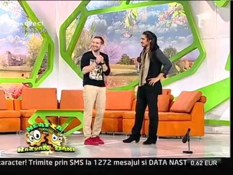 Razvan dansator de flamenco Faze tari Neatza cu Razvan si Dani