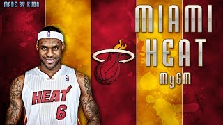 NBA 2K14 Next Gen My GM Mode Ep.1 Miami Heat Lebron