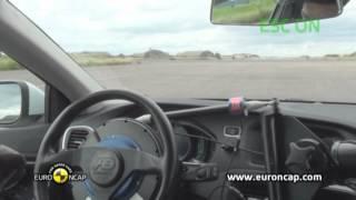 Volvo V40 ESC test - Euro NCAP 2012