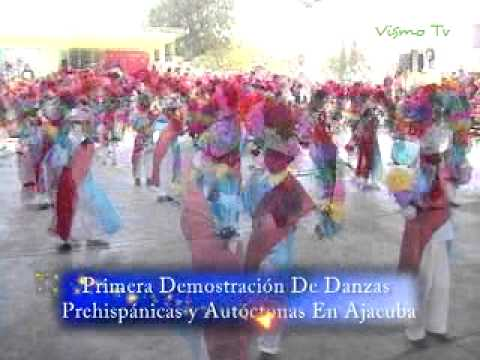 VisMoTV Demostración Danzas Prehispánicas Santiago Tezontlale 2