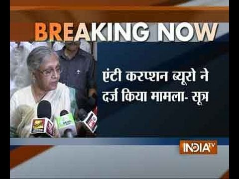 CWG scam: Delhi anti-corruption bureau files FIR against Sheila Dikshit-1