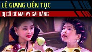 Cười ngất vì Lê Giang, Gia Bảo liên tục bị cô bé 5 tuổi Mai Vy 'GÀI HÀNG' | Bản Lĩnh Nhóc Tỳ Tập 25