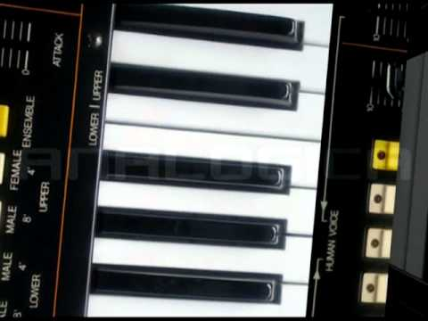 Analogica - Vintage Analog Synthesizer in 3D-Space.