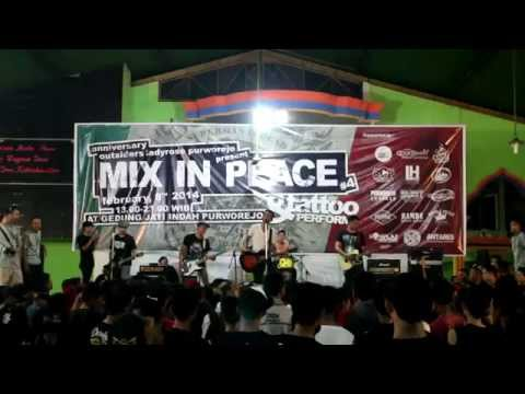 Broken Rose - Only God Will Judge Me (live at Purworejo)