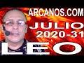 Video Horóscopo Semanal LEO  del 26 Julio al 1 Agosto 2020 (Semana 2020-31) (Lectura del Tarot)